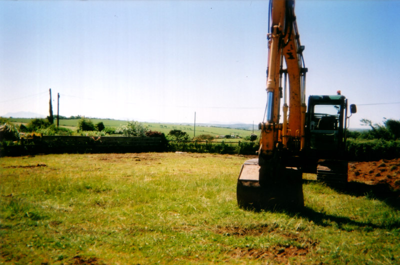 equestrian arena construction stage 1
