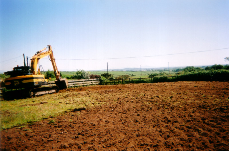 equestrian arena construction stage 2
